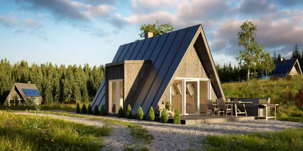 a-Frame-Design-with-Modern-Building-Materials-Prefab-Wood-House